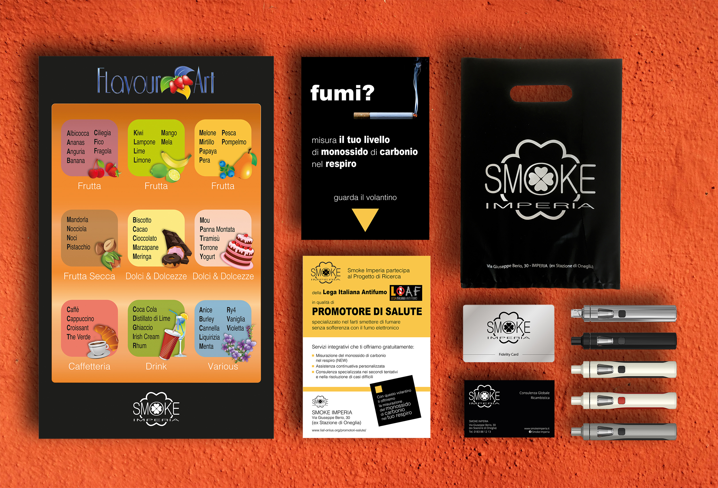 Immagine coordinata Smoke Imperia