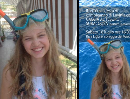 Scontorno & Ritocco Invito festa 1