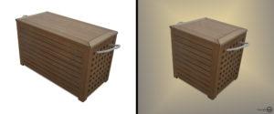 Storage chest prima e dopo
