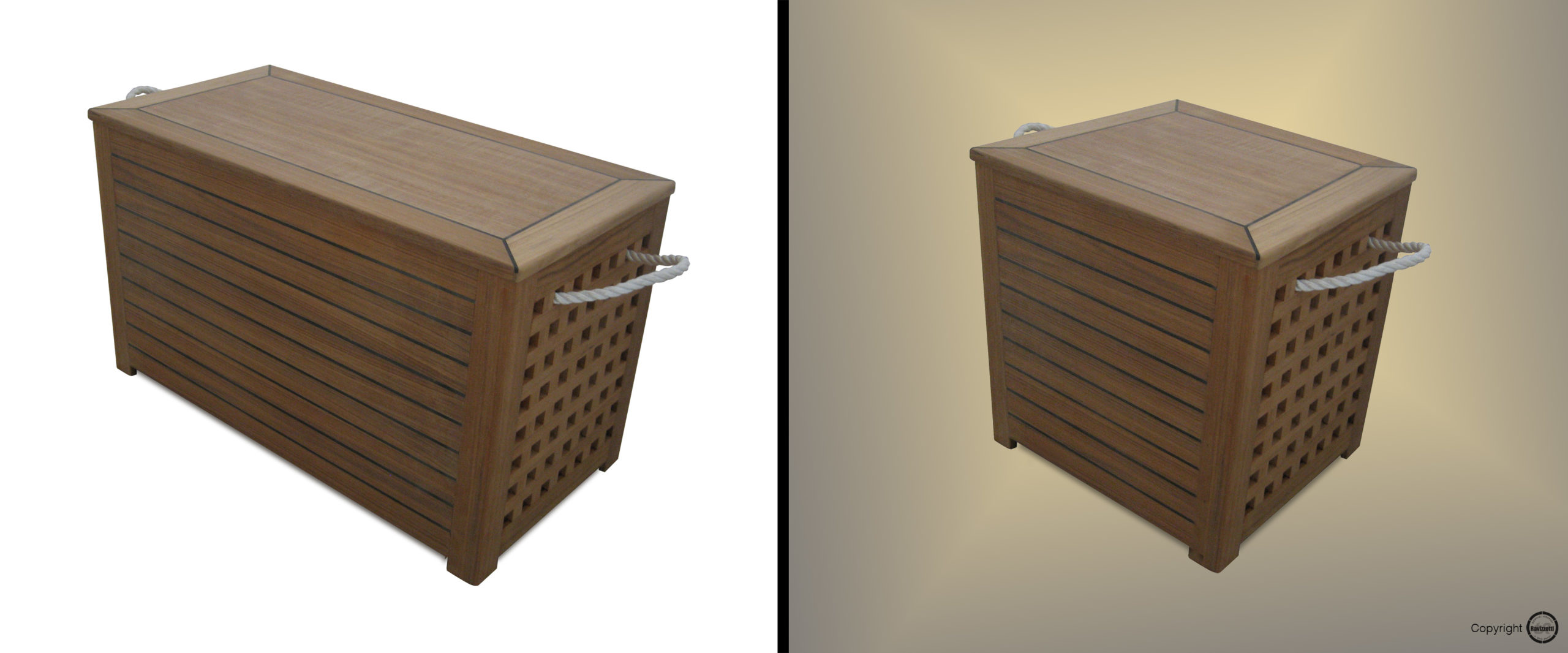 Storage chest prima e dopo