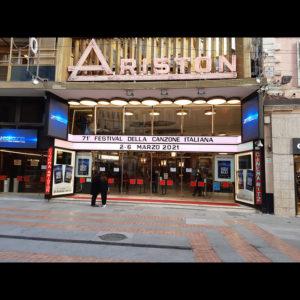 Festival di Sanremo | L'ingresso dell'Ariston
