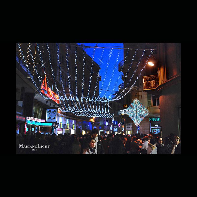 Festival di Sanremo | Luminarie notturne